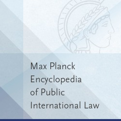 Max Planck Encyclopedia of PI Law