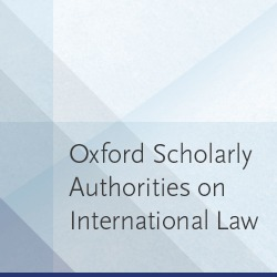 Oxford Scholarly Authorities on International Law